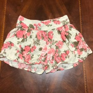 New Look Floral Print Shorts